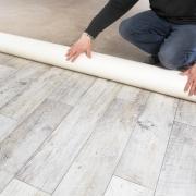 Sol PVC imitation plancher