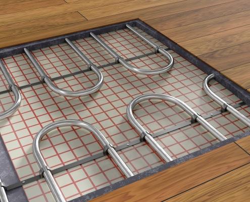 Quel prix pour un plancher chauffant ?