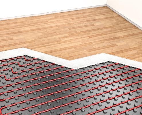 Plancher et chauffage au sol : le point